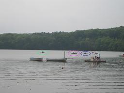 キャンプ カヌー